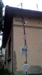 tetőtartós csatlakozás vezetékrögzítés módja